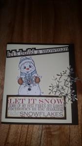 Låt oss bygga snögubbar....